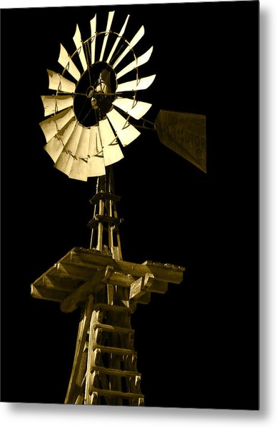 Awesome Aermotor Metal Print