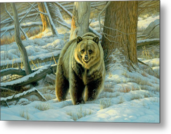 Awesome Encounter Metal Print