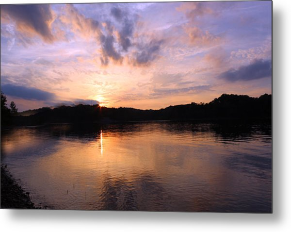 Awesome Sunset Metal Print