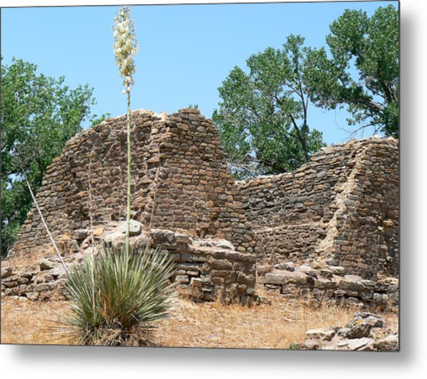 Aztec Ruins National Monument Metal Print