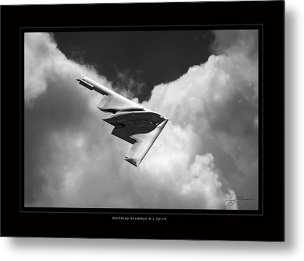 B-2 Spirit Metal Print by Larry McManus
