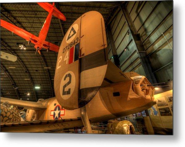 B-24 Liberator Tail Metal Print
