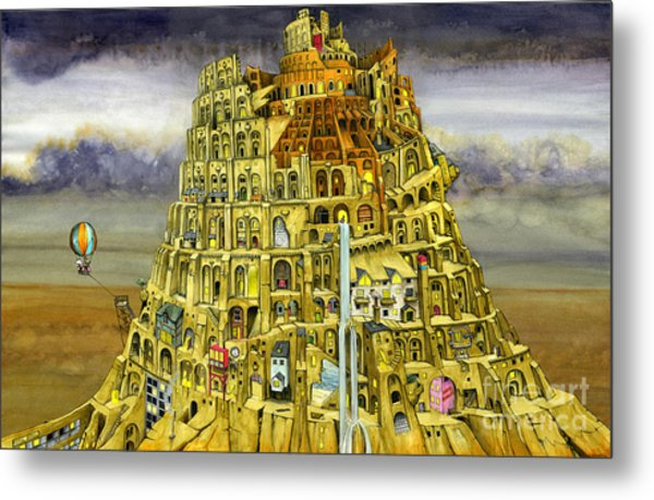 Babel Metal Print