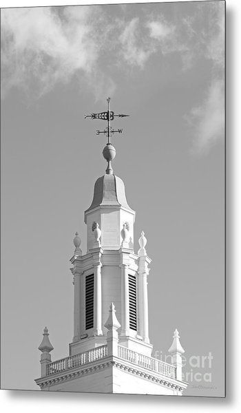 Babson College Tomasso Hall Cupola Metal Print by University Icons