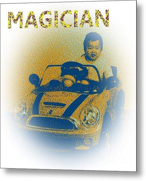 Babymagician Metal Print