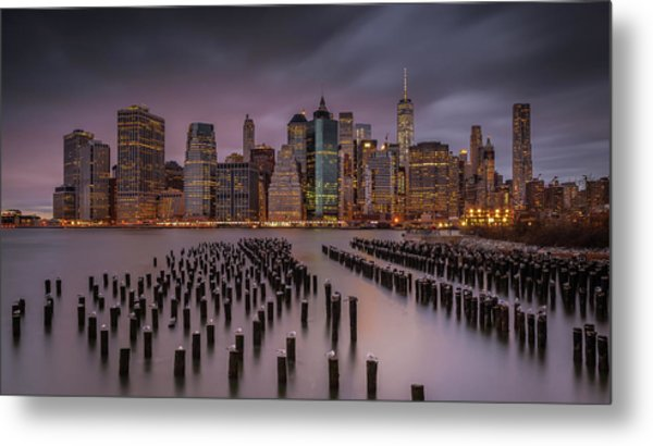 Back Home Metal Print by Andreas Agazzi