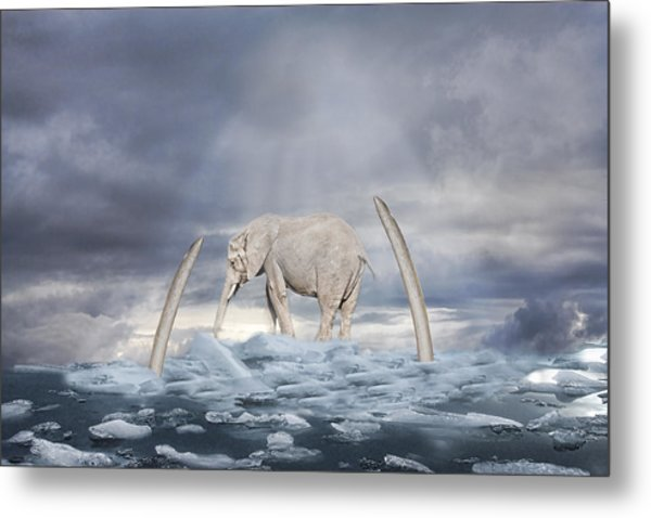 Back To The Ice Age Metal Print