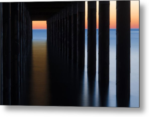 Back Under The Pier Metal Print