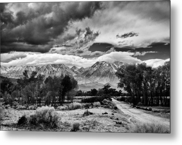 Backroads Of Bishop Metal Print