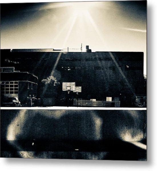 Backside Metal Print by Akos Kozari