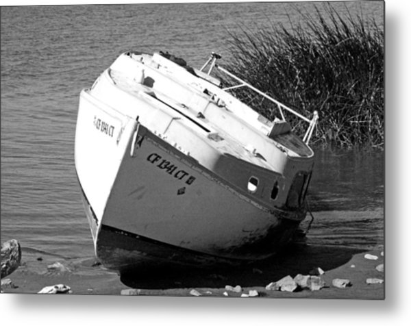 Bad Sail Day Metal Print
