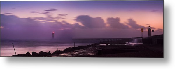 Bad Weather In Oporto 2014 Metal Print