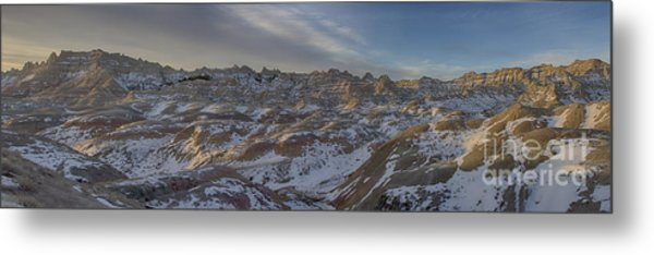Badlands Sunrise Metal Print