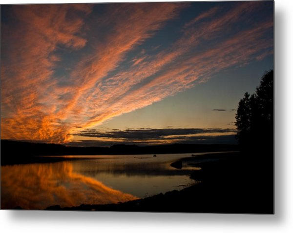 Bagaduce Sunset Metal Print