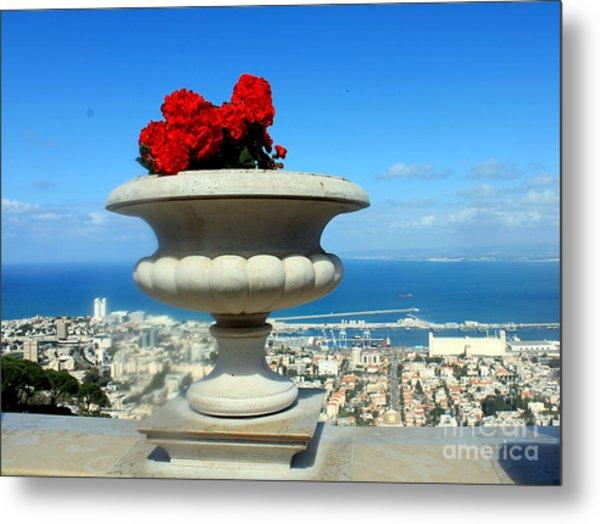 Bahai's Garden - Haifa Metal Print