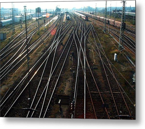 Bahnhof Cottbus Metal Print