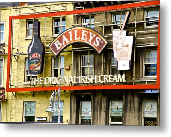 Baileys Irish Cream Metal Print