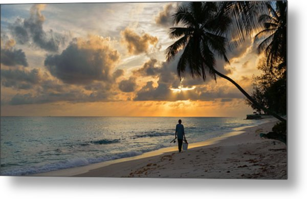 Bajan Fisherman Metal Print