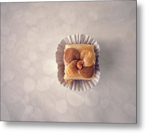 Baklawa With Almonds Metal Print by Samere Fahim Photography
