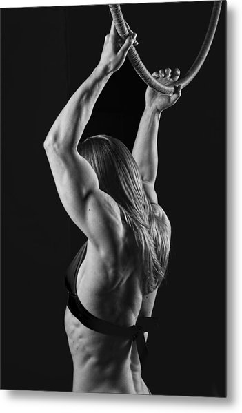 Balance Of Power Flexion Metal Print