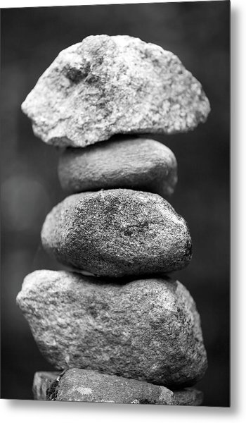 Balanced Rocks, Close-up Metal Print by Snap Decision