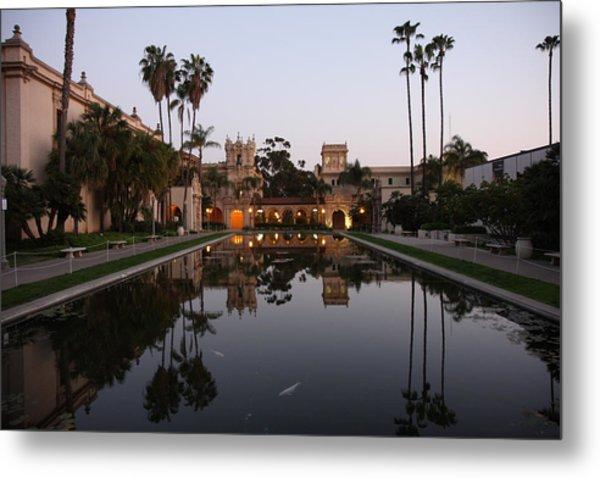 Balboa Park Reflection Pool Metal Print