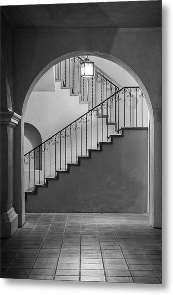 Balboa Park Stairs Metal Print