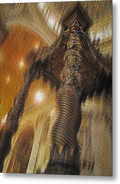 Metal Print featuring the photograph Baldachino Number One by Joe Winkler