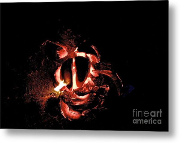 Ball Of Fire Metal Print by Bobby Mandal