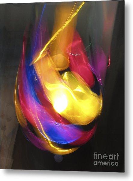 Ball Of Light Metal Print