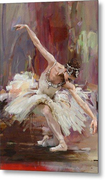 Ballerina 36 Metal Print