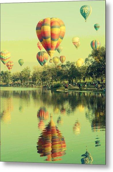Balloon Classic Metal Print