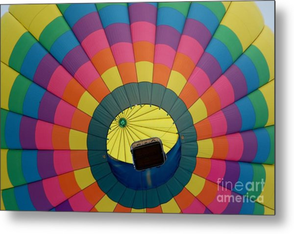 Balloon Lift-off  Metal Print