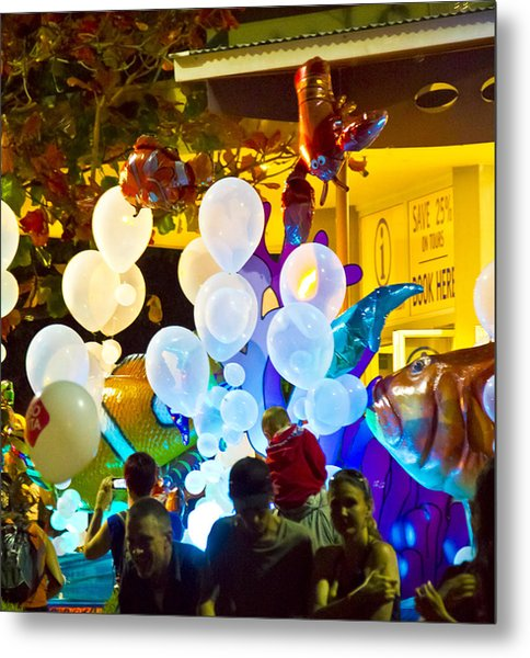 Metal Print featuring the photograph Balloons by Debbie Cundy