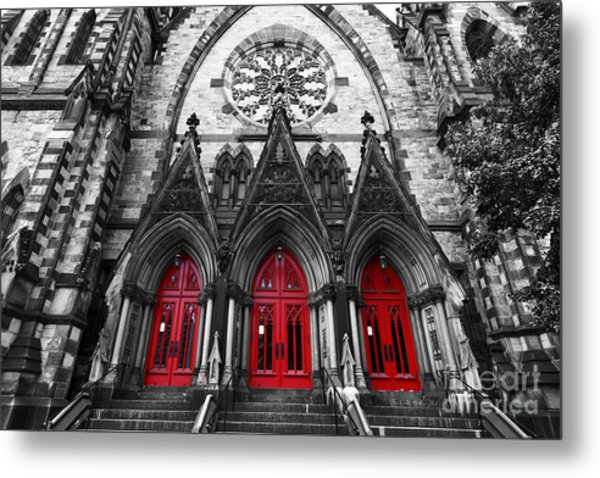 Baltimore Mount Vernon United Methodist Church Metal Print