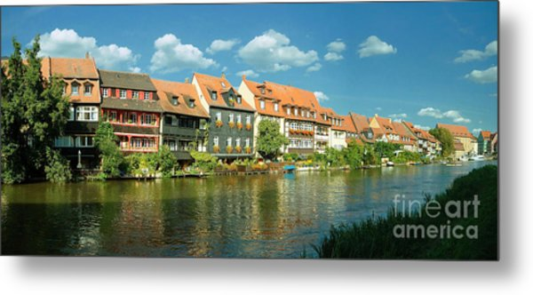 Bamberg Little Venice 1 Metal Print