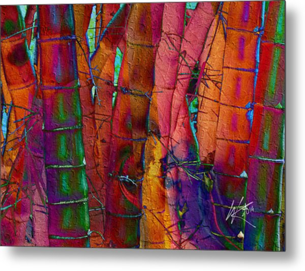 Bamboo Delight Metal Print