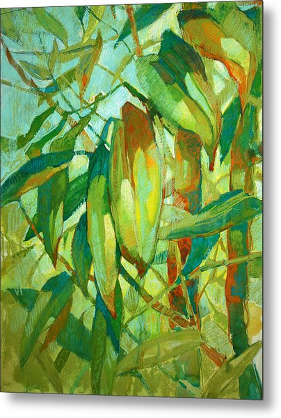 Bamboo Series Metal Print