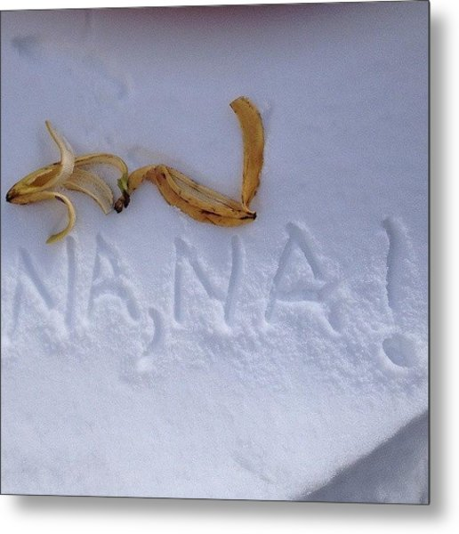 Banana Metal Print by Phil Tomlinson