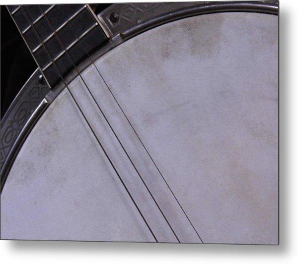 Banjo Abstract Metal Print by Kay Sparks