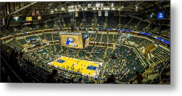 Bankers Life Fieldhouse - Home Of The Indiana Pacers Metal Print