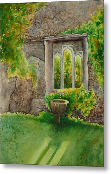 Baptistry At Lainston House  Winchester England Metal Print