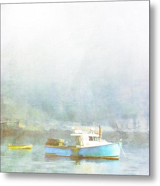 Bar Harbor Maine Foggy Morning Metal Print