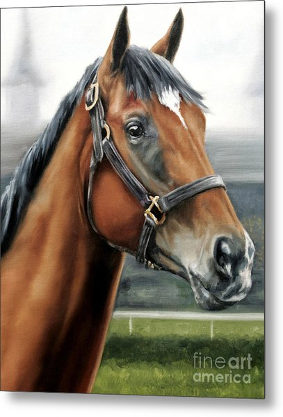 Barbaro At Churchill Downs Metal Print by Thomas Allen Pauly