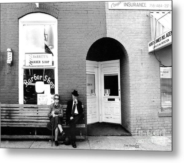 Barber Shop Watertown Tennessee Metal Print by   Joe Beasley