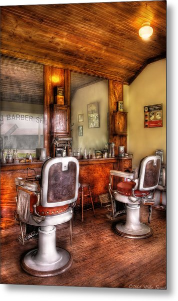 Barber - The Barber Shop II Metal Print