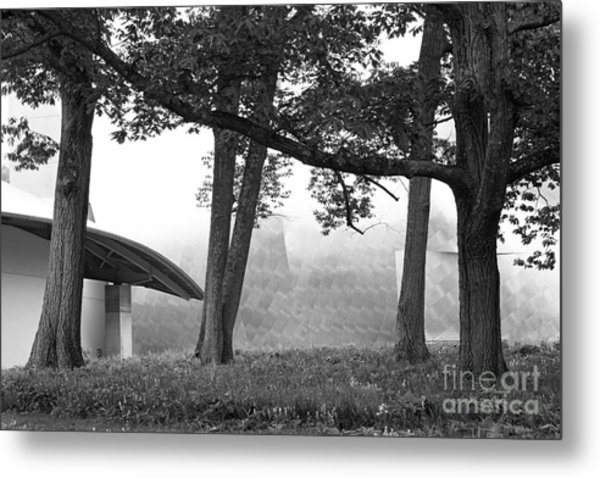 Bard College Fisher Center Metal Print by University Icons