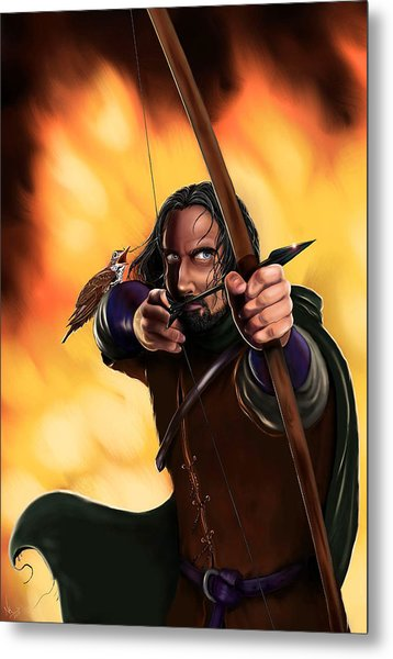Bard The Bowman Metal Print