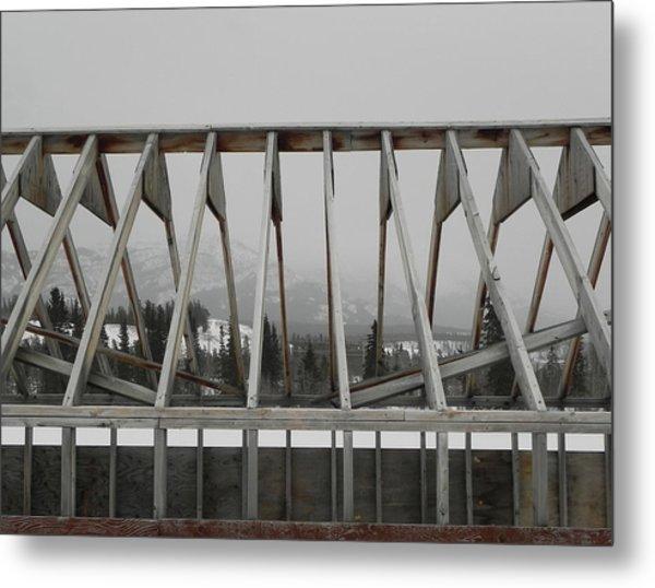 Barge Tent Metal Print