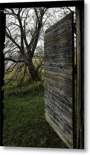 Barn Door No. 1 Metal Print
